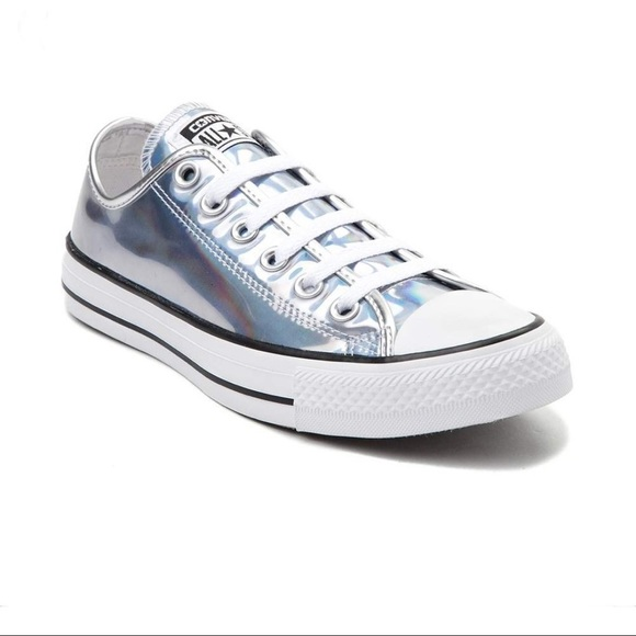 VGUC Holographic Converse - Girl's Size 2
